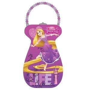 Princess'S Rapunzel Collectible Tin Purse - Beaded
